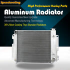 3ROW Aluminum Radiator For Jeep Wrangler TJ YJ V8 Engine 87 95 97 02