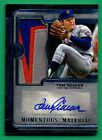 2019 Topps Museum Collection TOM SEAVER AUTOGRAPH PATCH Mets 11 15