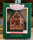 1987 Hallmark Miniature Creche #3 Regular Size Ornament - Multi-Plated Brass NIB