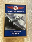 NEW IN BOX WINGS of TEXACO 1932 NORTHROP GAMMA DIE-CAST METAL LOCKING COIN BANK