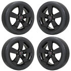 19 PONTIAC G8 GLOSS BLACK WHEELS RIMS TIRES FACTORY OEM SET 2008 2009 6640