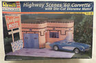 Revell '60 CORVETTE HWY SCENES W/DIORAMA 1/24 #85-7802 ©1997 Factory Sealed Box