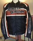 HARLEY DAVIDSON Mens XL Classic Cruiser BS Armored Leather Jacket W Liner