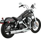 Vance  Hines 27523 Stainless Hi Output 21 Exhaust Harley Dyna Street Fat Bob