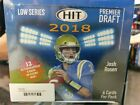 2018 Sage Hit Premier Draft NFL Box...