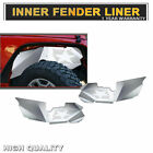 Front Vented Aluminum Inner Fender Liner Set 07 18 For Jeep Wrangler JK A3