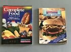 Weight Watchers 2001 Complete Food Companion and Dining Out lot of 2