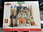 LEMAX COVENTRY COVE - LIGHTED BUILDING - VILLAGE CHIMNEY SWEEP - NEW