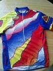 Vintage Voler Jersey bike cycling shirt Dalmac XL back pocket 1997
