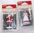 LOT OF 2 LEMAX CHRISTMAS VILLAGE SANTA'S WONDERLAND MRS.CLAUS COOKIES