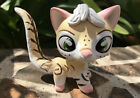Mini Toy Pet Shop Cat WARRIOR CAT Ooak Custom Hand Painted