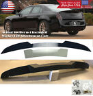 2 Pcs Trunk Decklid Spoiler Gurney Flap Wicker bill For 11-19 Chrysler 300 300C