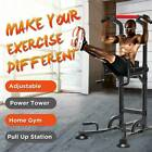 Pull Up Gym Training Equipment Power Tower Workout Dip Station Stretch Machine