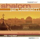 PAUL WILBUR - Shalom Jerusalem - CD - Live - **Mint Condition** - RARE