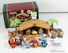 Fisher Price Little People Musical Christmas Story Nativity Scene Stable Manger