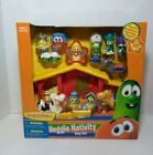 VeggieTales Christmas Nativity Play Set Figurines Bible Toy Big Idea New Gift