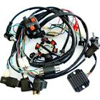 Full set Wiring Harness CDI Coil Solenoid For GY6 125 250cc ATV Go kart Scooter