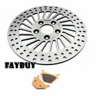 Rear Brake Rotor Disc Pads for Sportster 883 1200 XLH FLSTF 1340 Fat Boy Softail