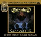 ENTOMBED - Clandestine - 2 CD - Limited Edition - **BRAND NEW/STILL SEALED**
