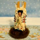 Miniature Doll Porcelain Baby Dollhouse 112 Native Indian Artist Doris Orthaus