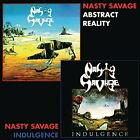 NASTY SAVAGE - Indulgence / Abstract Reality - CD - **Mint Condition** - RARE