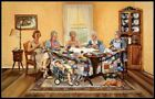 Chart Needlework Crafts DIY - Counted Cross Stitch Patterns - The Gossip Party