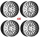 19 STAGGERED WHEELS RIMS 5X120 BMW SILVER MACHINED TSW