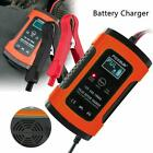 12v 5a Auto Pulse Repair Battery Charger For Car Motorcycle Agm Gel Lead Acid