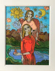 Sale Glass Painting Inspired by the book Angels in My Hair