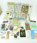 25 Packs Scrapbooking Accents Embellishments Stickers 3D Crafting Lot B