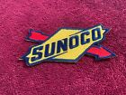 Sunoco Logo Racing Patch Iron On Embroidered NASCAR NHRA Gas Gasoline