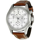 Pre-owned IWC Pilot Chronograph Automatic Silver Dial Men's PRE-IWC3717-02