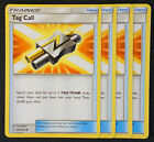 Pokemon Cards 4x Tag Call 206 236 Playset Cosmic Eclipse NM M