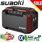 SUAOKI Portable Power Station 150Wh Solar Generator Power Supply Energy Storage