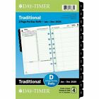 2020 Day Timer 5 1 2 x 8 1 2 Reference Two Page Per Day Refill 24385097