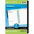 2020 Day Timer 5 1 2 x 8 1 2 Two Page Per Day Refill Classic 92010 24390810