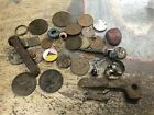 Collection of River Thames Mudlarking Finds, Silver, Old Glass And Others
