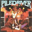 PILEDRIVER - Metal Inquisition / Stay Ugly - CD - **Excellent Condition** - RARE