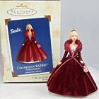 2002 Hallmark Celebration Barbie Keepsake Ornament 3rd in Series Holiday Doll #3
