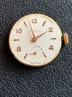 Vintage Zenith Watch Movement Cal 888 Dial Hands Running For Parts