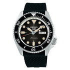 Seiko Five SRPD95 Automatic Watch 100 Meter Black Dial USA Model