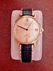 Vintage Longines Automatic Ultra-Chron watch 14k Solid Gold - Runs