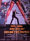 James Bond Roger Moore For Your Eyes Only French cinema poster 46