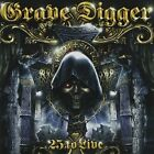 GRAVE DIGGER - 25 To Live - 2 CD - **BRAND NEW/STILL SEALED** - RARE