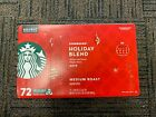 Starbucks Coffee 2019 Holiday Blend KEURIG K Cups 72 Count New