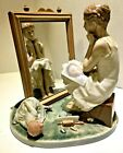 LLADRO 1982 NUMBERED FIGURINE OF NORMAN ROCKWELL'S DAY DREAMER  1411