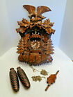 German Romance Cuckoo Clock Swiss Musical Movement