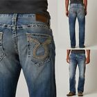 Big Star Vintage Jeans Mid Rise Omega Voyager Relaxed Straight Leg 31 33 38 40