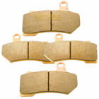 Fr+R Sintered Brake Pads For FLHTCUTG Tri Glide Ultra Classic Trike 2009-2014
