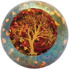 Glass Eye Studio celestial series paperweight Autumn Beauty 2403 Brand New
